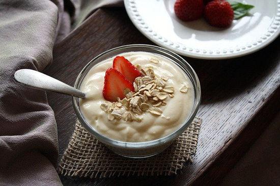 Image de Yaourts aux  fraises 2pots