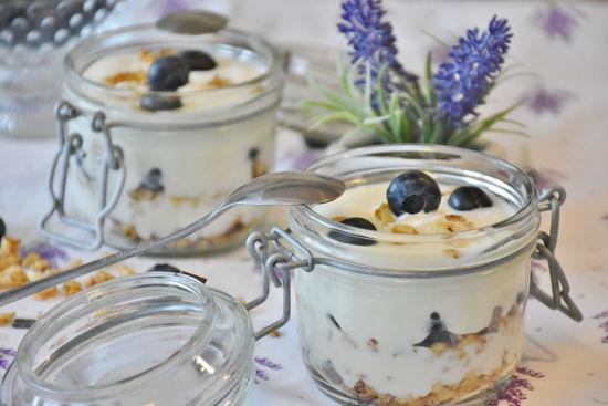 Image de Yaourts aux myrtilles 2 pots